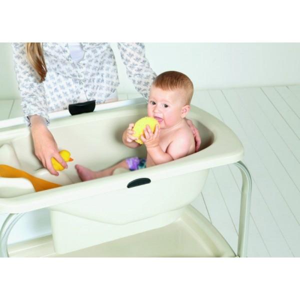 baignoire bébé sur pied