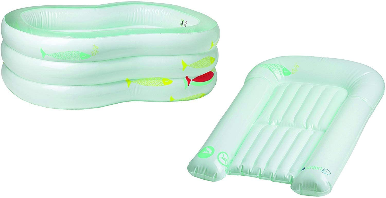 baignorie gonflable avec matelas